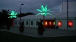 4.7MTR LED PALM TREE