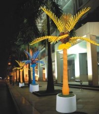 LED Patio Palm Tree
